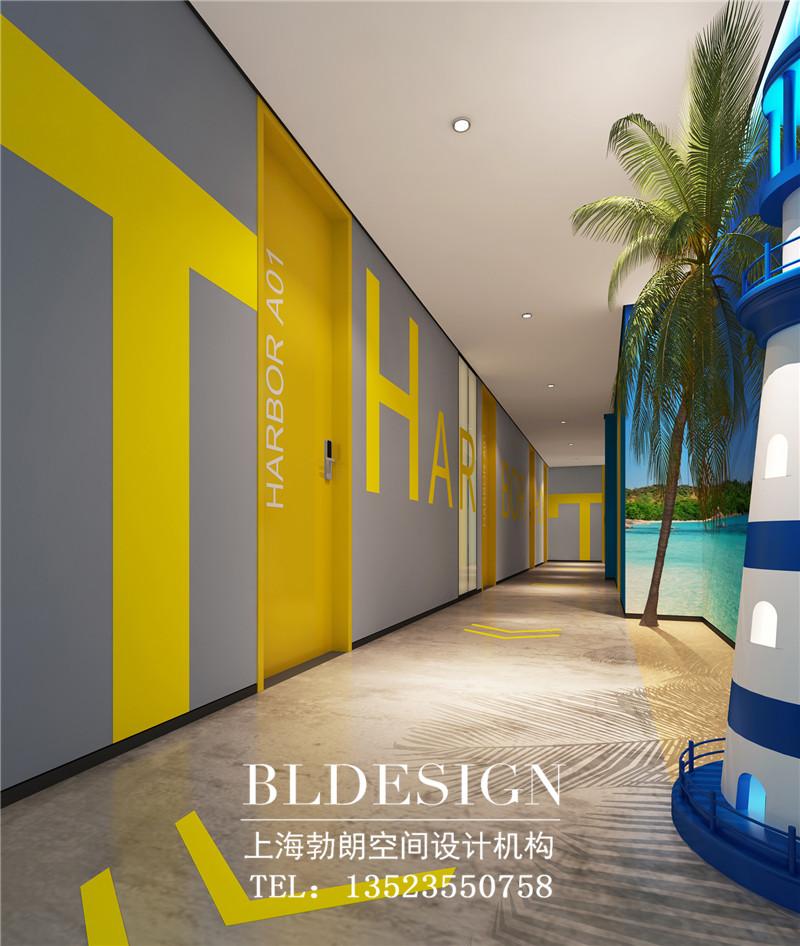 北斗星哈泊旅馆走廊设计案例