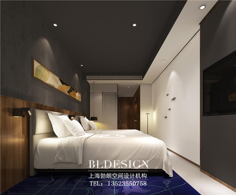 精致优雅的精品酒店客房空间设计效果图
