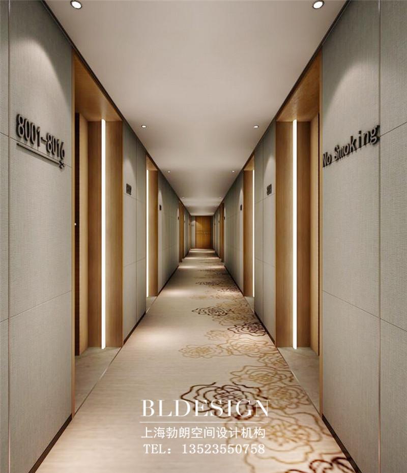 商务酒店走廊