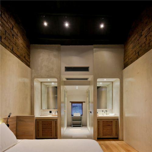 精品酒店客房空间设计实景图