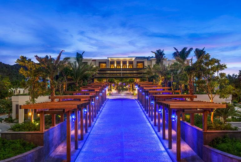 豪华酒店室外风景及外观