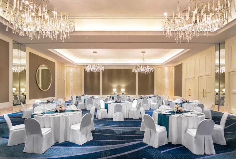 高大上的酒店宴会餐饮空间