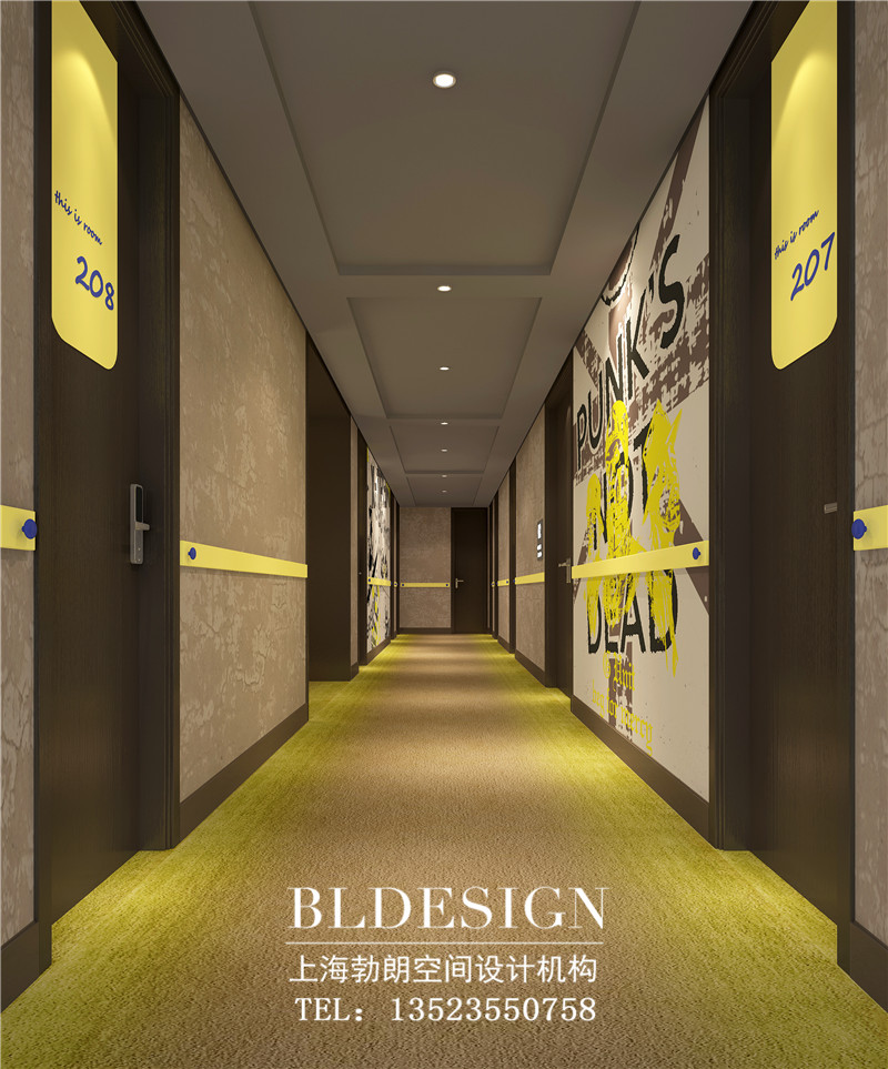 酒店走廊区域设计方案