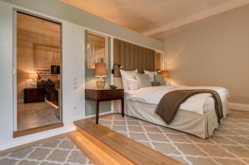 宽敞舒适的酒店空间