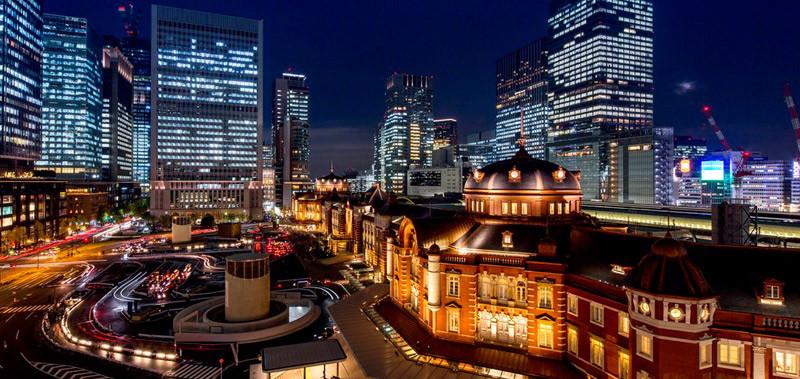 东京站奢华精品酒店建筑室外空间