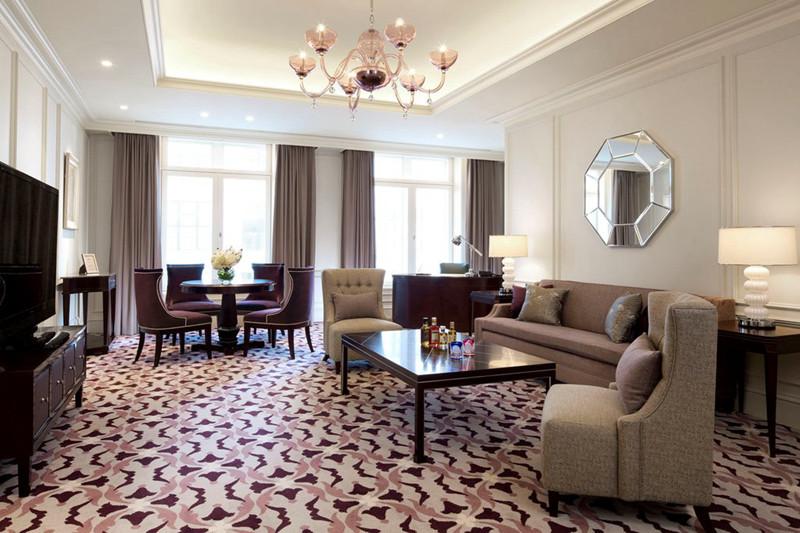 酒店室内局部空间