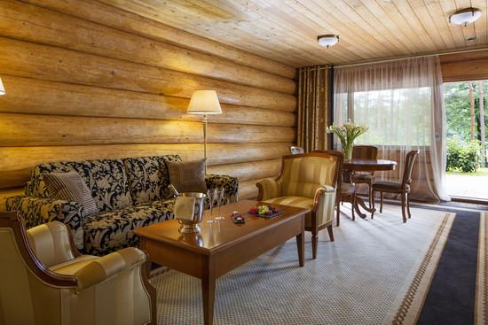 自然优雅奢华的酒店室内空间