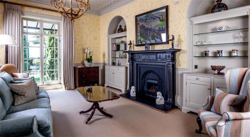 尽享宁静闲适的The Bath Priory精品酒店客房设计案例