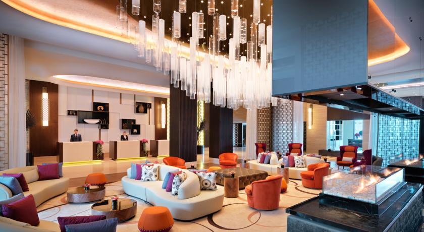 精致大气的酒店大堂空间设计实景图