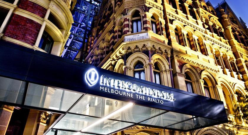 墨尔本洲际酒店外观