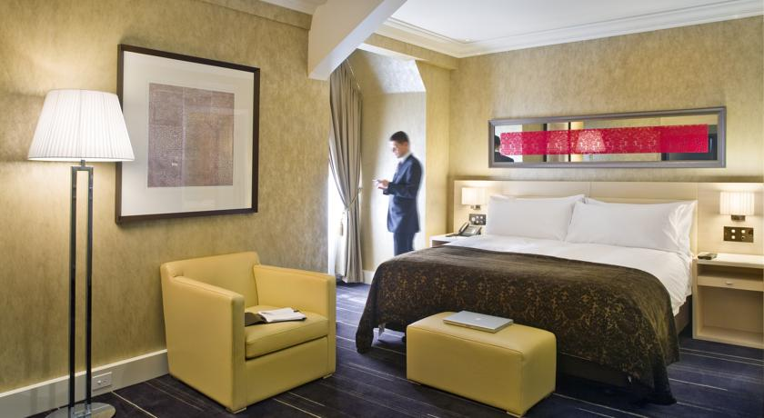 酒店客房空间布局设计实景图