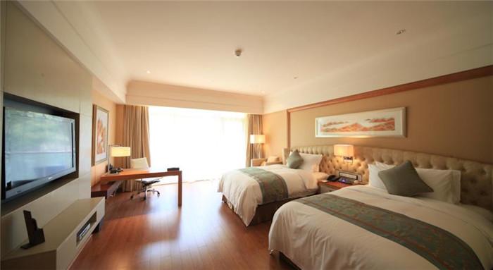 千岛湖滨江希尔顿酒店客房空间布局
