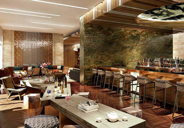 巴库因图丽斯精品酒店餐饮空间设计实景图