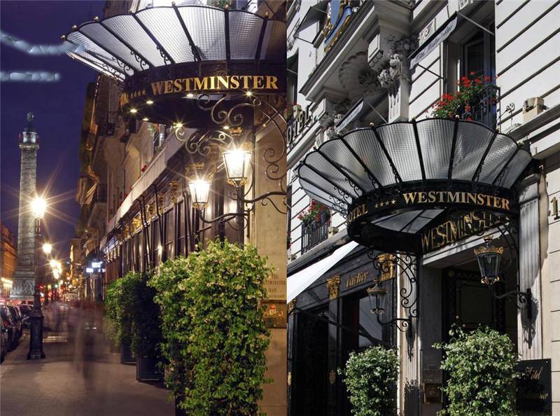 巴黎威斯敏斯特四星级酒店设计案例