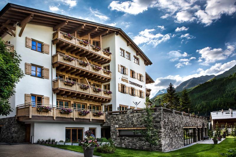 酒店建筑外观实景图