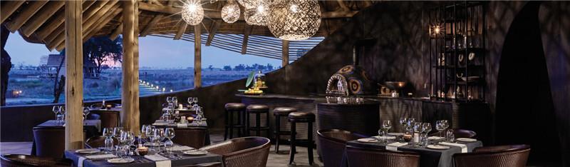 格调独具的酒店餐厅设计实景图