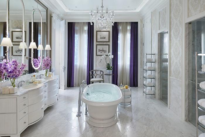 曼谷文华东方酒店客房洗浴空间