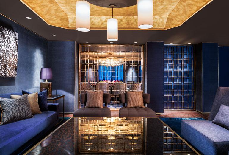 奢华的酒店室内空间设计实景图