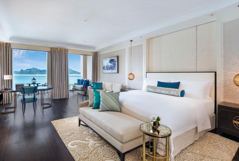 星级酒店客房空间布局设计案例