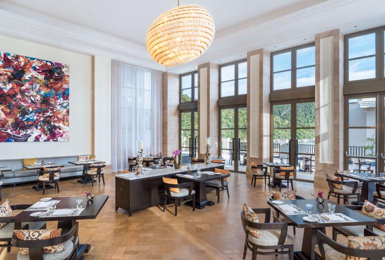 五星级酒店餐厅空间设计实景图
