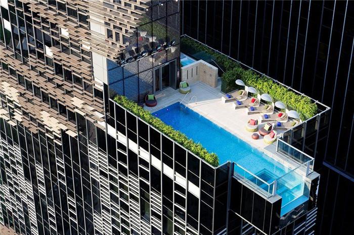 酒店建筑外观:酒店楼顶设计欣赏