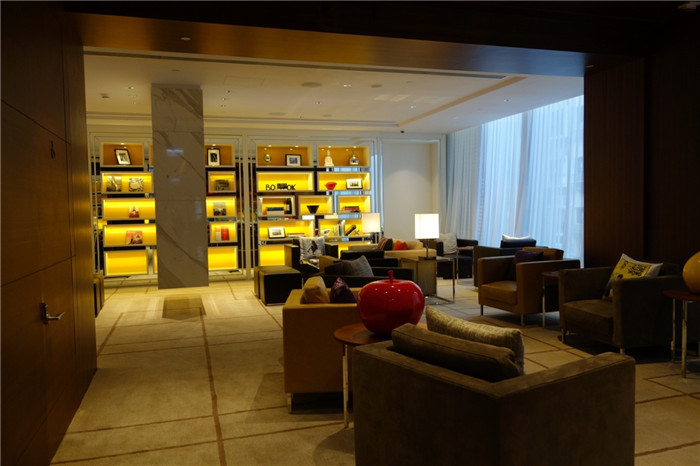香港英迪格精品酒店室内局部空间实景图