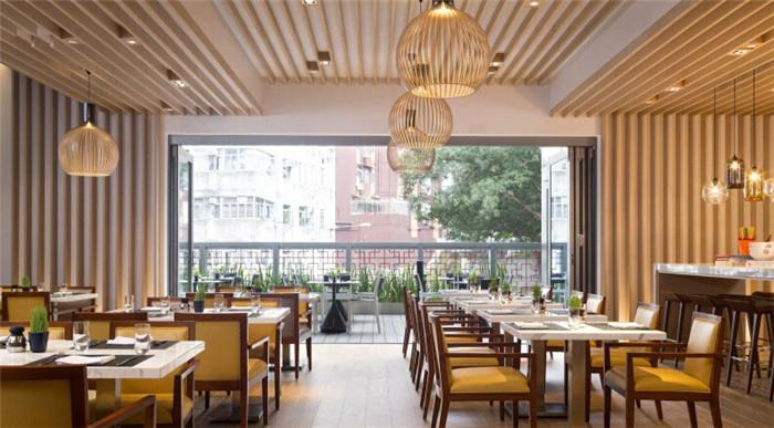 精品酒店:餐厅空间设计案例