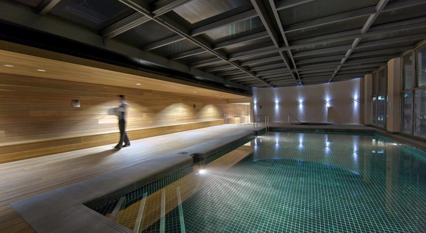 酒店室内游泳池