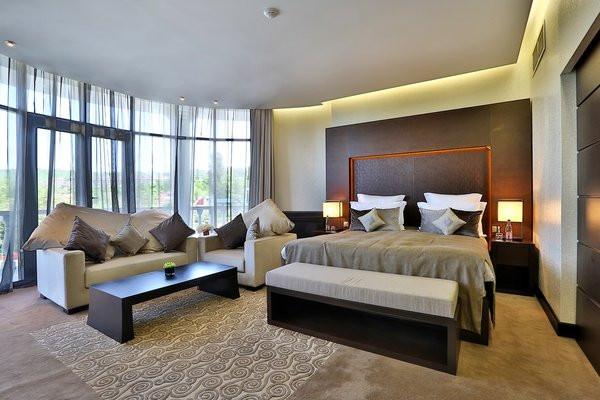 酒店客房空间布局实景图