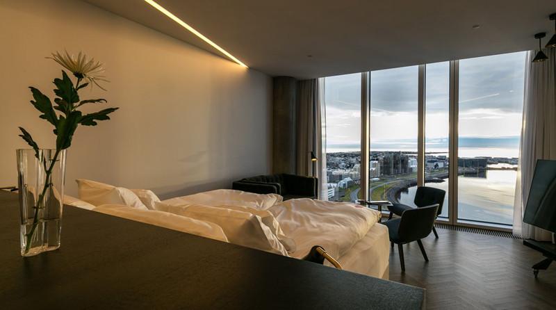 酒店客房局部空间设计实景图