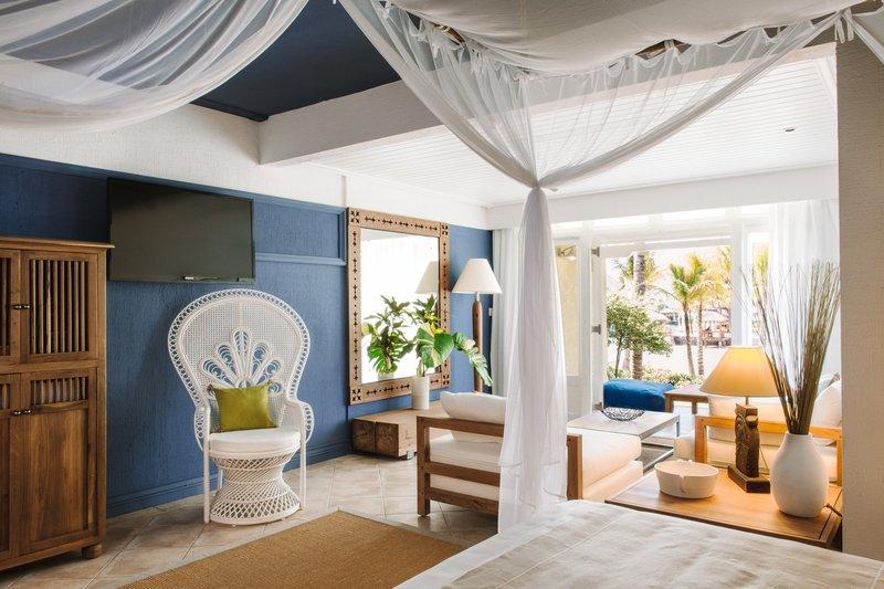 精品酒店客房局部空间设计实景图