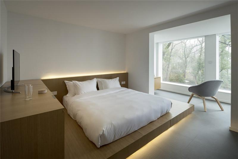 简约舒适的客房空间