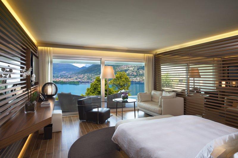 视野极佳的酒店客房空间