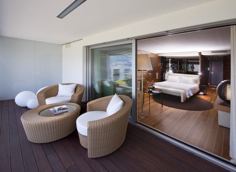 酒店客房空间局部以及细节设计实景图
