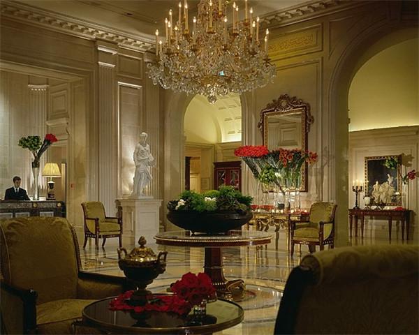 酒店大堂空间