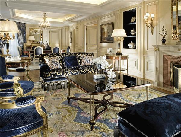 奢华优雅的酒店室内空间