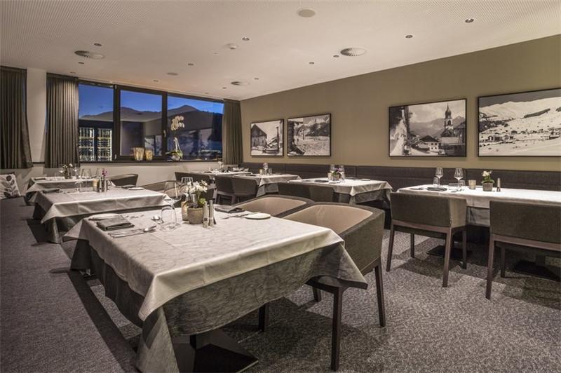 精品酒店室内餐厅设计实景图
