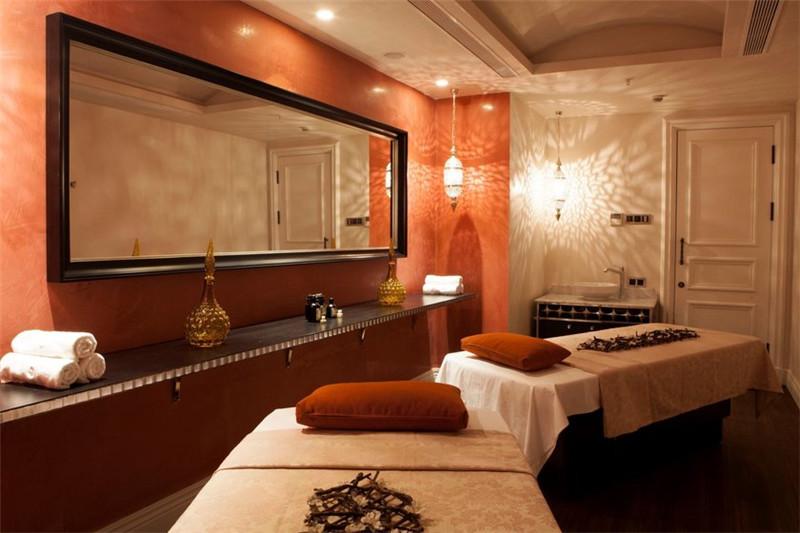 酒店spa休闲空间