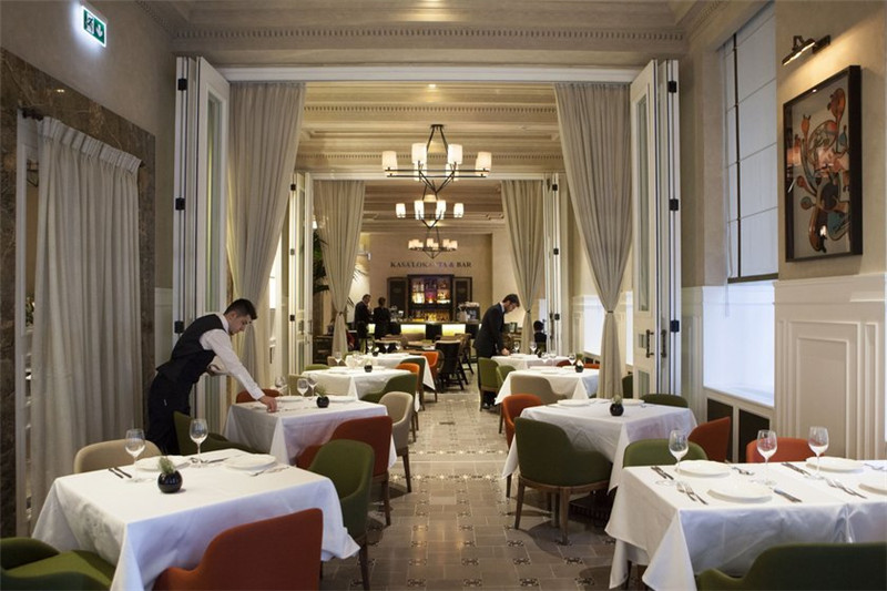 国外酒店餐饮空间