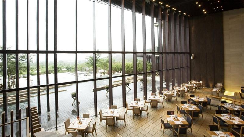 酒店局部餐厅空间设计实景图
