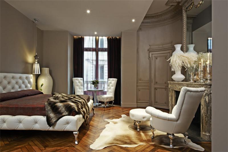 奢华的酒店客房空间:国外精品酒店设计实景图