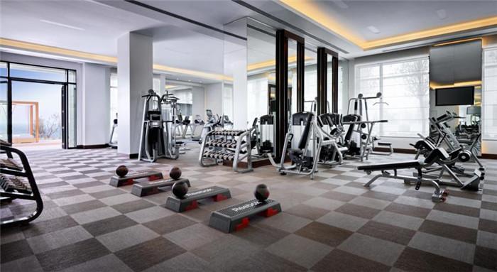 酒店室内运动区域:健身区