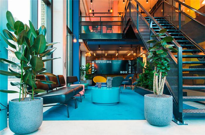 loft酒店室内空间设计图