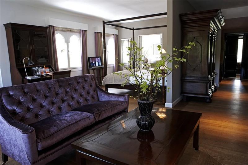 国外精品酒店客房空间