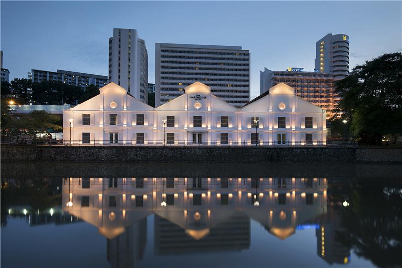 酒店建筑外观设计实景图