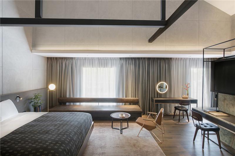 宽敞舒适的客房空间