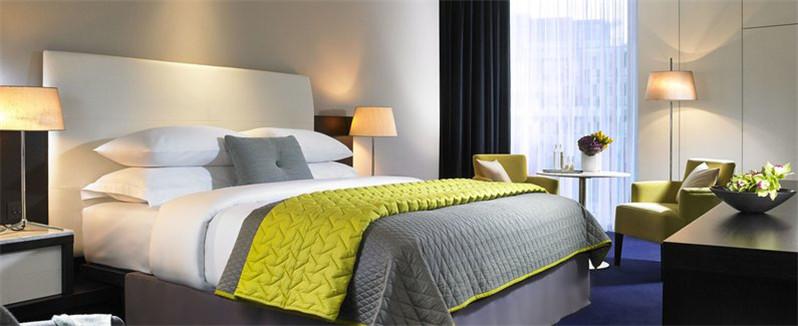 酒店客房空间装修实景图