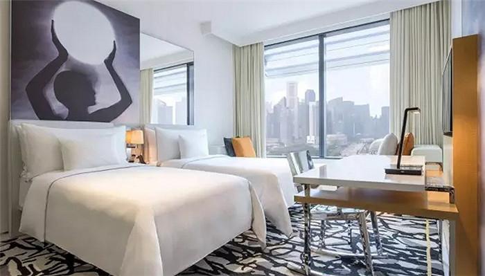 酒店客房空间布局