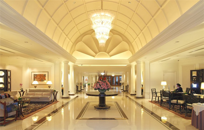 度假酒店大堂空间