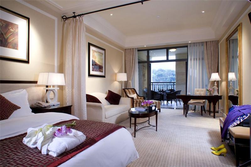 玫瑰花园酒店客房空间局部设计实景图